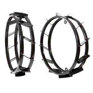 Pair of extra rings to increase the track of 480x100 metal wheels - Pair of extra rings to increase the track of 480x100 metal w