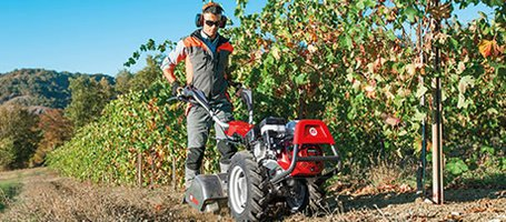 New BRIK 5 S, KAM 7 S, KAM 13 S two wheel tractors for intensive use