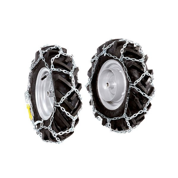 "Pair of snow chains for 4.00x8"" wheels"